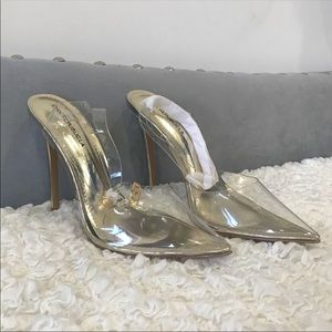 Shoes - Transparent Heels shoes